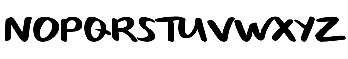 SizableQuantity Font UPPERCASE