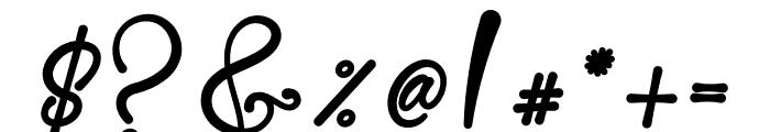 Skarlight Millagra Font OTHER CHARS