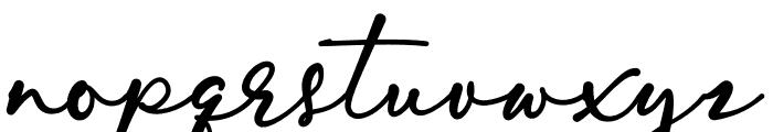 Skarlight Millagra Font LOWERCASE