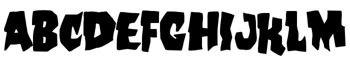 Skate Bait Font LOWERCASE