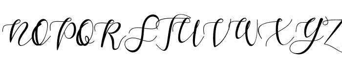 Sketchy Twisty Font UPPERCASE