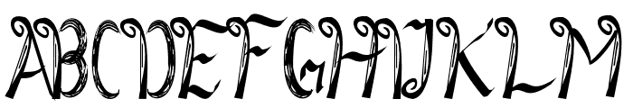 SketsaLeo Font UPPERCASE