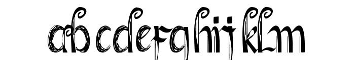 SketsaLeo Font LOWERCASE