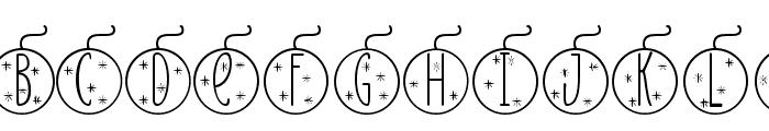 Skinny monogram02 Regular Font LOWERCASE