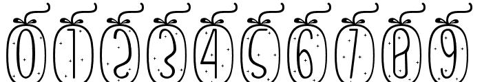 Skinny monogram04 Regular Font OTHER CHARS