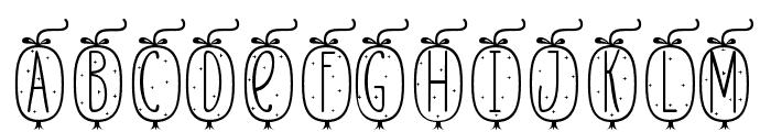 Skinny monogram04 Regular Font UPPERCASE
