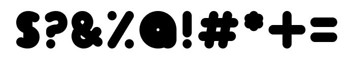 Skrova Bottom Solid Font OTHER CHARS