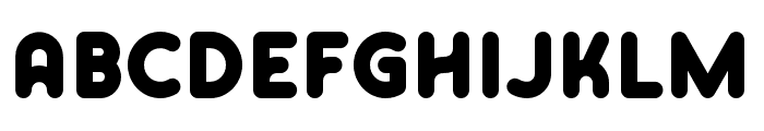 Skrova Bottom Solid Font UPPERCASE