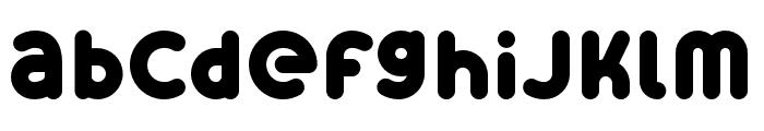 Skrova Bottom Solid Font LOWERCASE
