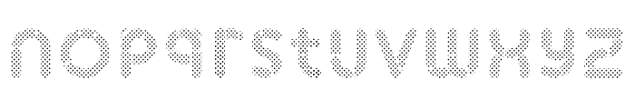 Skrova Fill Dotted Font LOWERCASE