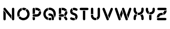 Skrova Fill Solid Font UPPERCASE