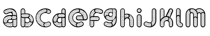 Skrova Lines and Dots Font LOWERCASE