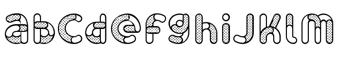 Skrova Parts Outline Dotted 1 Font LOWERCASE