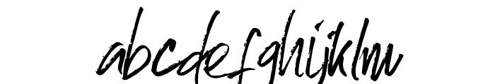 Skyfall Font LOWERCASE