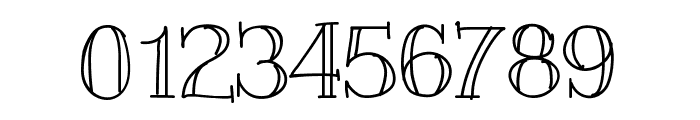 Slim Font OTHER CHARS