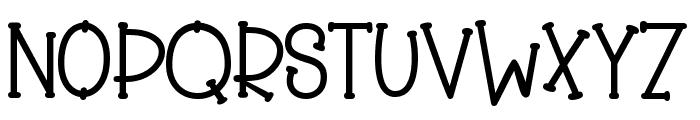 Slinky Bear Font UPPERCASE