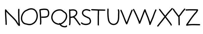 SlothSlide Font UPPERCASE
