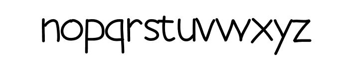 SlothSlide Font LOWERCASE