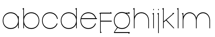 Slowglass Regular Font LOWERCASE