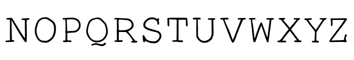 Smart Chameleon Font UPPERCASE