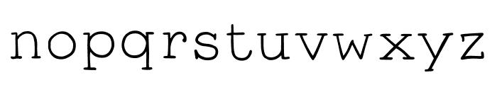 Smart Chameleon Font LOWERCASE