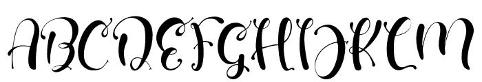 SmartChild Font UPPERCASE