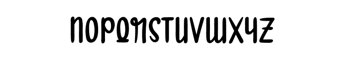 Smartwork Font LOWERCASE