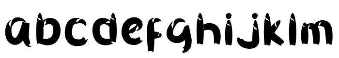 Smile Cake Font LOWERCASE