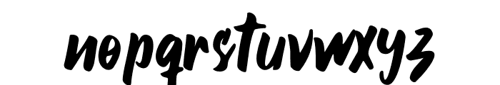 Smile Candy Font LOWERCASE