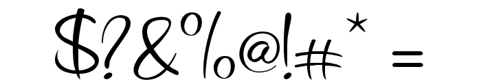 Smileheart Font OTHER CHARS