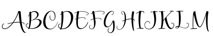 Smileheart Font UPPERCASE