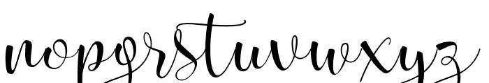 Smileheart Font LOWERCASE