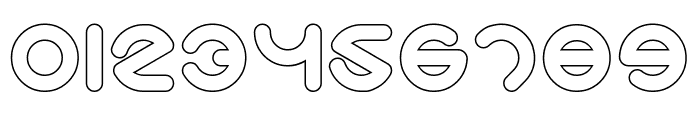 Smiley Turtle-Hollow Font OTHER CHARS