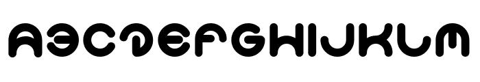 Smiley Turtle-Light Font UPPERCASE