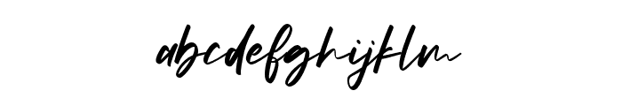 Smithgroove Font LOWERCASE