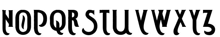 Smoking Typeface Base Font UPPERCASE
