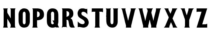 Smoking Typeface Base Font LOWERCASE