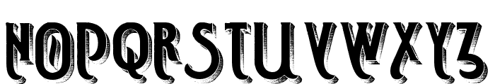 Smoking Typeface Full Font UPPERCASE
