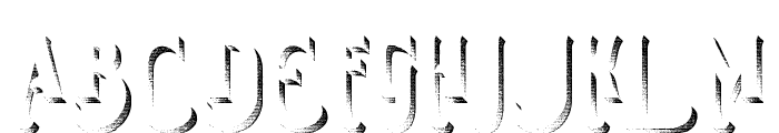 Smoking Typeface Shadow Font UPPERCASE