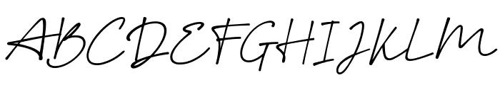 Smoothart Font UPPERCASE