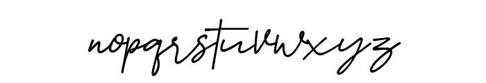 Smoothart Font LOWERCASE