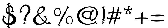 SnailTreasure Font OTHER CHARS
