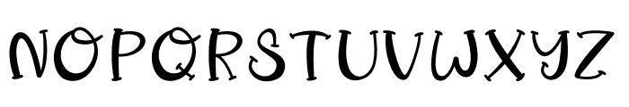 SnailTreasure Font UPPERCASE