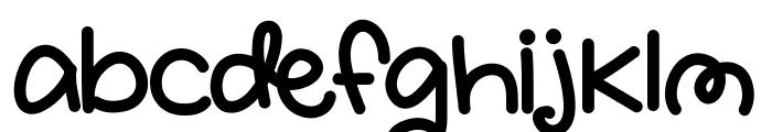 SnugglyBug Font LOWERCASE