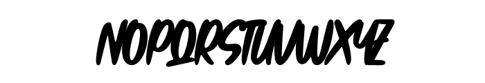 So Frosty Font UPPERCASE