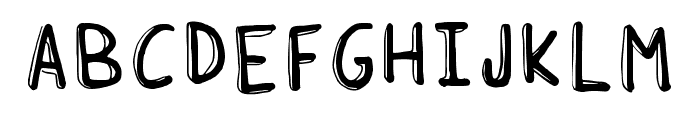 Soda Lime Regular Font UPPERCASE