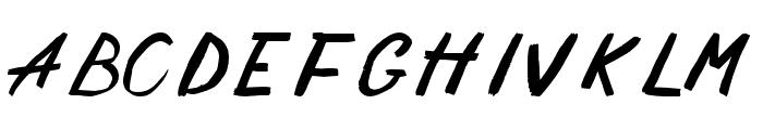 Solomon Font UPPERCASE