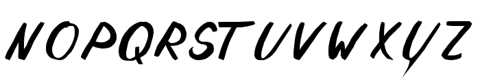Solomon Font LOWERCASE