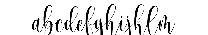 Someday Font LOWERCASE