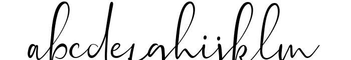 Sontiro Font LOWERCASE